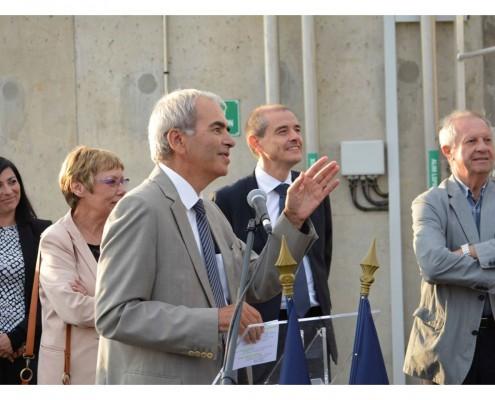 Inauguration de la STEP